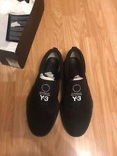 Y-3 Tangutsu Triple Black Sneaker UK 8