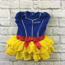 Disney Baby Snow White One Piece Outfit Costume Tutu Dress Size 9 Months
