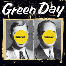 Green Day Nimrod 20th Anniversary 2 X Yellow Etched Vinyl LP