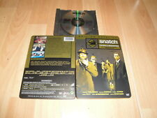 SNATCH CERDOS Y DIAMANTES EN DVD DEL DIRECTOR GUY RITCHIE CON 2 DISCOS STEELBOOK