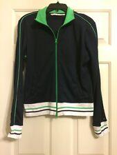 Nwt Ladies Tommy Hilfiger size L Navy blue zip Up athletic Jacket, Nice