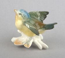 Karl Ens Volkstedt Porcelain Germany, Fledgling Blue Tit Figurine #7742