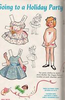 Miloche 2010--/'50s Fashions Paperdoll Review Magazine Issue #48 Jane Withers