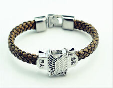 Attack on Titan leather bracelet