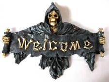 """Türschild der Tod / Knochenmann  """"Welcome""""   ***NEU & OVP***"""