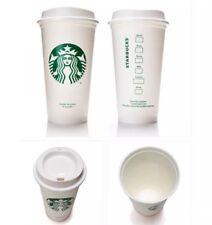 Starbucks Reusable Cups Lot Of 4 Tumbler Plastic Grande Recyclable 16oz HTF! NEW