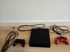 PS4 SONY PLAYSTATION 4 SLIM - 1TB + 6 JUEGOS + 2 MANDOS + CABLES