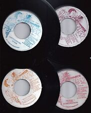 Mr. TIPSY Label. Set of SIX 45's. Jamaican Press.