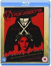 V For Vendetta [Blu-ray] [2006] [Region Free] [DVD][Region 2]