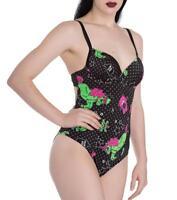 New Zombie Unicorn Black Swimming Costume My Little Pony XS S M L XL