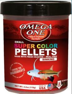 Omega One Small Sinking Super Color Pellets 4.2 OZ