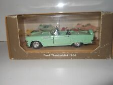 1956 FORD  THUNDERBIRD 1956  RIO MADE IN ITALY 1:43 with display box
