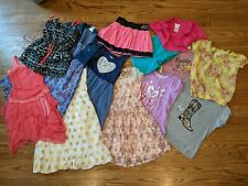 Girls Size 12 Clothing Lot Dresses Skirt Shorts Justice Abercrombie