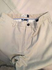 Boys Sz 16 Husky Gap Khaki Beige Dress Casual Adjustable Waist Pants 💙😳