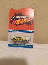 """Hot Wheels 2014 Mexico Convention '67 Camaro 1/1 """"MOC"""""""