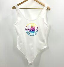 Body Glove Women's White  Sleeveless Body Suit Size L