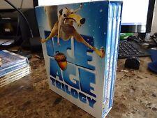 Ice Age Trilogy (Blu-ray Disc, 2013) Dawn Dinosaurs Meltdown 1 2 3 Movies
