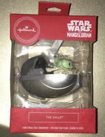 2020 Hallmark Star Wars The Mandalorian The Child Christmas Ornament Baby Yoda