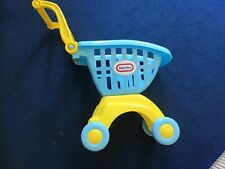 Child's Shopping Trolley by Little Tikes. Collection Only.