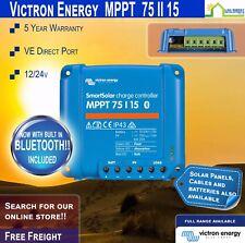 Victron SmartSolar 75/15 MPPT Solar Charge Controller - InBuilt Bluetooth