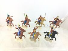 Lot 7 Timpo Mounted Wild West Indians
