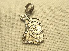VINTAGE STERLING SILVER CHARM STATE MAP OF MICHIGAN