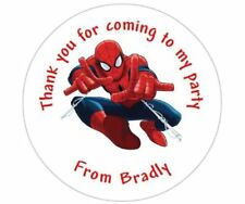 Spiderman Thank You Party Bags