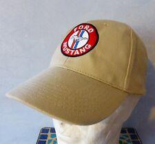 Casquette beige FORD MUSTANG ( shelby bullitt 289 260 v8 fastback gt cobra ghia