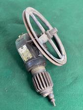 Vintage Antique Stewart Warner Tire Pump Accessory Model 128 C Air Compressor