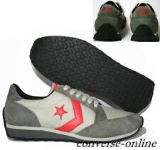 Mens Womens CONVERSE All Star GREY RED WORLD CLASS TRAINERS 2 Shoes SIZE UK 7.5