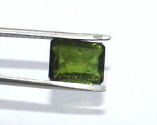 1.90 Ct - Natural Green Color Tourmaline Gemstone 8.6X6.6 mm Emralde Cut S1165