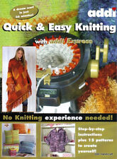 ADDI BOOK Quick and Easy Knitting Express 15 patterns with instructions 992-0
