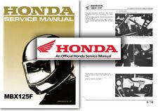 Honda MBX125F Service Workshop Repair Shop Manual MBX 125 F Factory MBX125