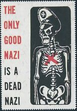 Artist Stamp Replica Poster Label USA WWII 1945 Anti War 05 Good is Dead MNH