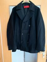 Hugo Boss Herren Woll Kurz Mantel Trenchcoat Größe L Winter Fashion