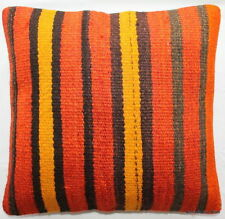 Handmade Striped Square Decorative Cushions & Pillows