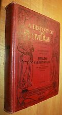 A History Of The Civil War, 1861-65, by Bj Lossing, Brady 1912 16 color plates