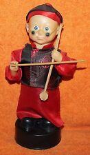 "Nice Older Man Playing Erhu Chinese Violin Working 11"" Tall"