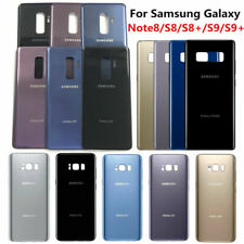 Battery Door Back Glass Housing Panel For Samsung Galaxy Note8 S7 S8 Plus S9+ US