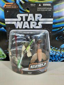 Hasbro Star Wars 2006 REVENGE OF THE SITH Yoda EPISODE III COLLECTION