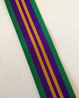 ACSM 2011 Medal Ribbon, Full Size, Accumulated Campaign Service, Army, Military