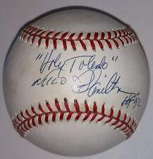 Milo Hamilton Autographed Rawlings ONL Baseball Holy Toledo Houston Astros HOF