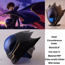 Anime Code Geass Lelouch Zero Helmet Mask Cosplay Props Halloween Party