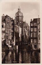 NETHERLANDS - Amsterdam - Kolkje - Echte Foto