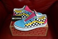 Vans Old Skool Crazy Chex Off The Wall Skate Shoe Men's Women's SZ 4-14