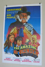 "AMAZING MR BLUNDER ORIGINAL USED American MOVIE POSTER 1987 27"" X 41"