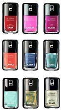 Cover smalto per unghie con il tuo nome Samsung Galaxy S5, scegli il colore!