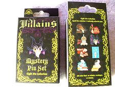Disney * VILLAINS * Descriptive - Big Head Style *New & Sealed 2-Pin Mystery Box