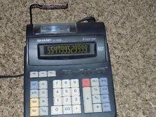 Sharp El-1192Bl 2 Color Calculator Adding Machine 12 Digit Lcd Display
