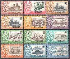 Poland 1954 Polish People's Rep. -10th anniv.-  Mi.877,78,889-96,A890,A89 - used